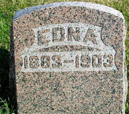 JOHNSON, EDNA - Ida County, Iowa   EDNA JOHNSON