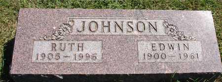 JOHNSON, EDWIN & RUTH - Ida County, Iowa | EDWIN & RUTH JOHNSON