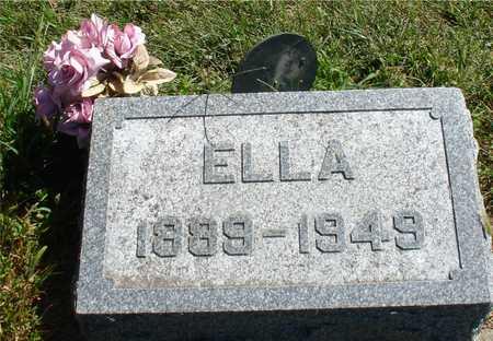 JOHNSON, ELLA - Ida County, Iowa | ELLA JOHNSON