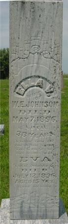 JOHNSON, ELLA V. - Ida County, Iowa | ELLA V. JOHNSON