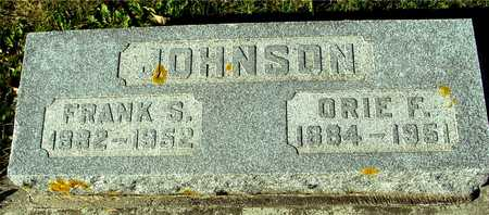 JOHNSON, FRANK S. & ORIE F. - Ida County, Iowa   FRANK S. & ORIE F. JOHNSON