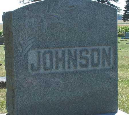 JOHNSON, FAMILY MARKER - Ida County, Iowa | FAMILY MARKER JOHNSON