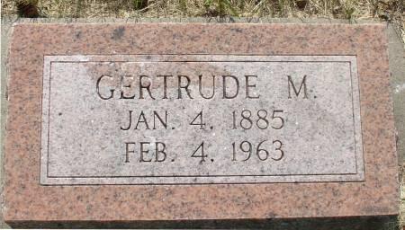 JOHNSON, GERTRUDE M. - Ida County, Iowa | GERTRUDE M. JOHNSON