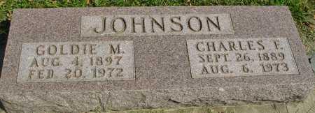 JOHNSON, GOLDIE M. - Ida County, Iowa | GOLDIE M. JOHNSON