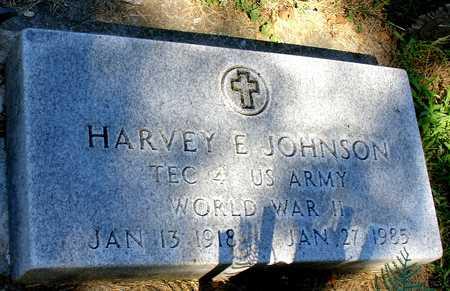 JOHNSON, HARVEY E. - Ida County, Iowa   HARVEY E. JOHNSON