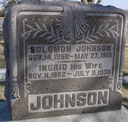 JOHNSON, INGRID - Ida County, Iowa | INGRID JOHNSON