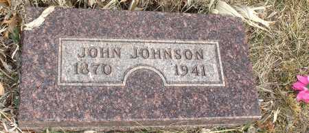JOHNSON, JOHN - Ida County, Iowa   JOHN JOHNSON