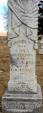 JOHNSON, JAMES S. - Ida County, Iowa   JAMES S. JOHNSON