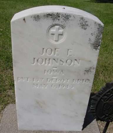 JOHNSON, JOE E. - Ida County, Iowa | JOE E. JOHNSON