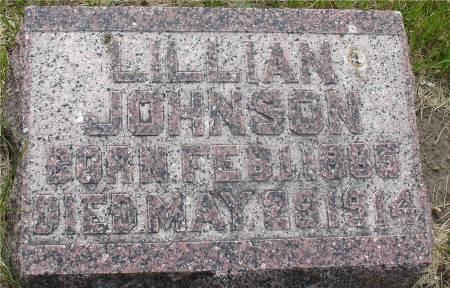 JOHNSON, LILLIAN - Ida County, Iowa | LILLIAN JOHNSON