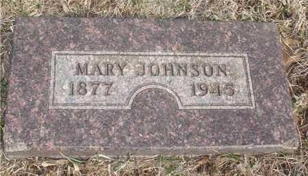 JOHNSON, MARY - Ida County, Iowa   MARY JOHNSON