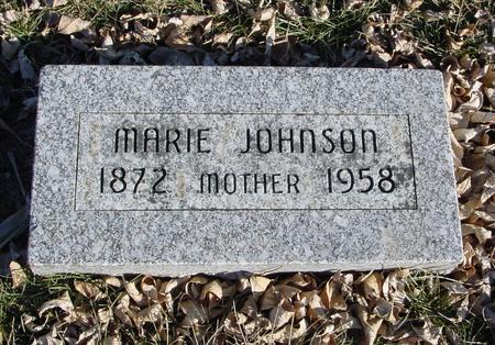 JOHNSON, MARIE - Ida County, Iowa | MARIE JOHNSON