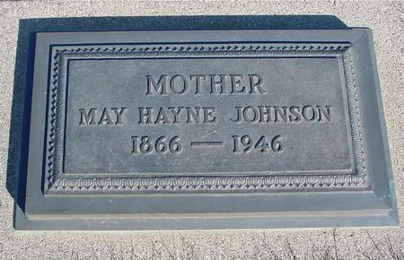 HAYNE JOHNSON, MAY - Ida County, Iowa | MAY HAYNE JOHNSON