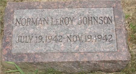 JOHNSON, NORMAN LEROY - Ida County, Iowa | NORMAN LEROY JOHNSON