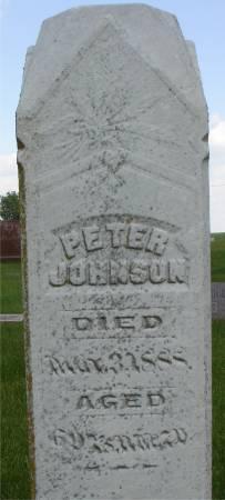 JOHNSON, PETER - Ida County, Iowa   PETER JOHNSON