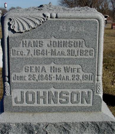 JOHNSON, SENA - Ida County, Iowa | SENA JOHNSON