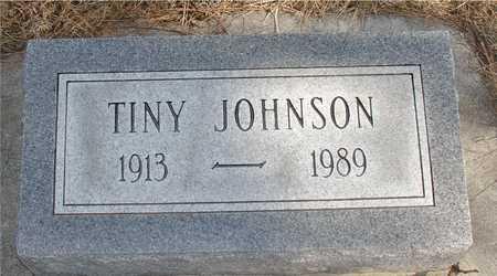 JOHNSON, TINY - Ida County, Iowa | TINY JOHNSON