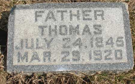 JOHNSON, THOMAS - Ida County, Iowa | THOMAS JOHNSON