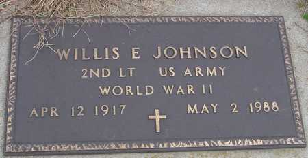 JOHNSON, WILLIS E. - Ida County, Iowa | WILLIS E. JOHNSON