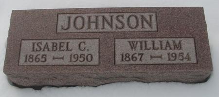 JOHNSON, WILLIAM & ISABEL C. - Ida County, Iowa | WILLIAM & ISABEL C. JOHNSON