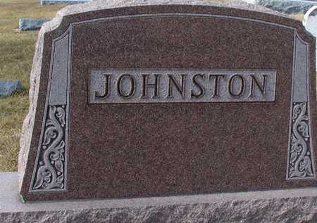 JOHNSTON, FAMILY MARKER - Ida County, Iowa | FAMILY MARKER JOHNSTON