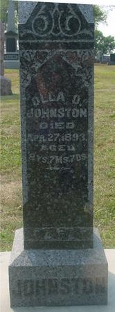 JOHNSTON, OLLA O. - Ida County, Iowa | OLLA O. JOHNSTON