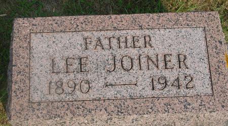 JOINER, LEE - Ida County, Iowa | LEE JOINER