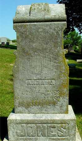 JONES, ANNA K. - Ida County, Iowa | ANNA K. JONES