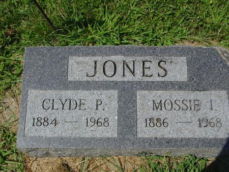 JONES, CLYDE P. - Ida County, Iowa | CLYDE P. JONES