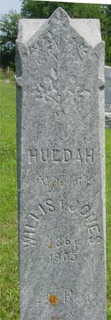 JONES, HULDAH - Ida County, Iowa | HULDAH JONES