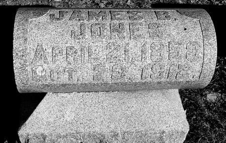 JONES, JAMES B. - Ida County, Iowa | JAMES B. JONES