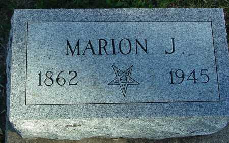 JONES, MARION J. - Ida County, Iowa | MARION J. JONES