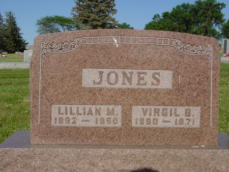 JONES, VIRGIL - Ida County, Iowa | VIRGIL JONES
