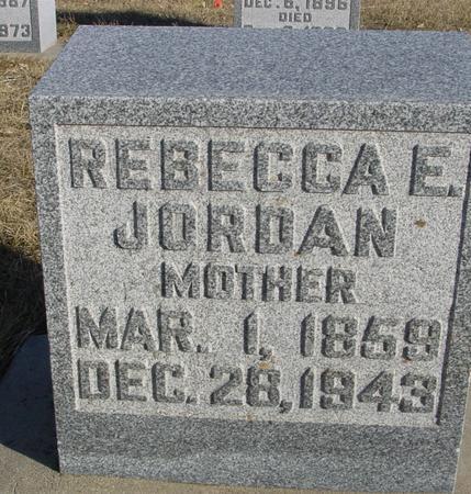 JORDAN, REBECCA E. - Ida County, Iowa | REBECCA E. JORDAN