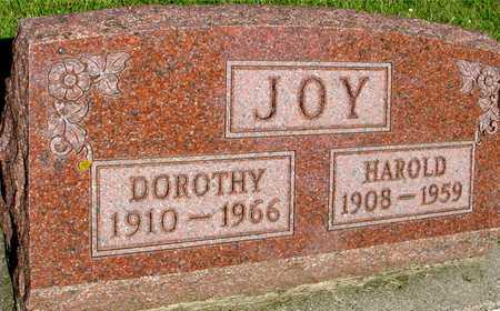 JOY, HAROLD & DOROTHY - Ida County, Iowa | HAROLD & DOROTHY JOY
