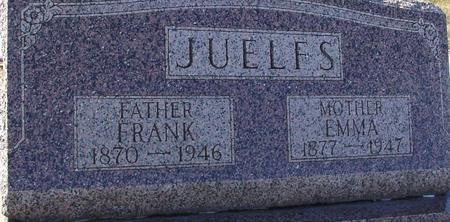 JUELFS, FRANK & EMMA - Ida County, Iowa | FRANK & EMMA JUELFS