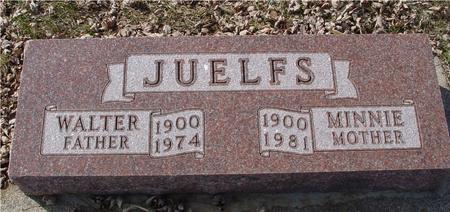 JUELFS, WALTER & MINNIE - Ida County, Iowa | WALTER & MINNIE JUELFS