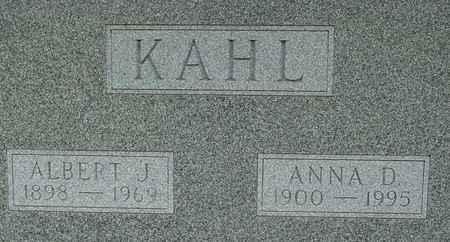KAHL, ALBERT J. & ANNA D. - Ida County, Iowa | ALBERT J. & ANNA D. KAHL