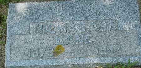KANE, THOMAS ASA - Ida County, Iowa | THOMAS ASA KANE