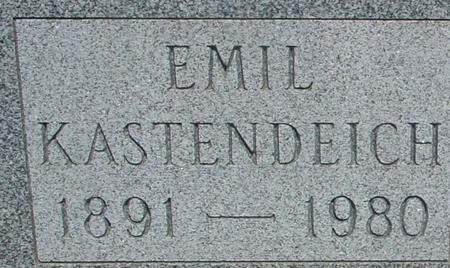 KASTENDEICH, EMIL - Ida County, Iowa   EMIL KASTENDEICH