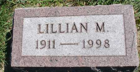 KAUS, LILLIAN M. - Ida County, Iowa   LILLIAN M. KAUS