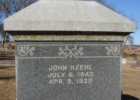 KEEHL, JOHN - Ida County, Iowa | JOHN KEEHL