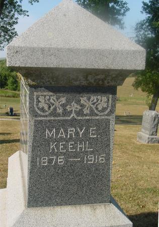 KEEHL, MARY E. - Ida County, Iowa | MARY E. KEEHL