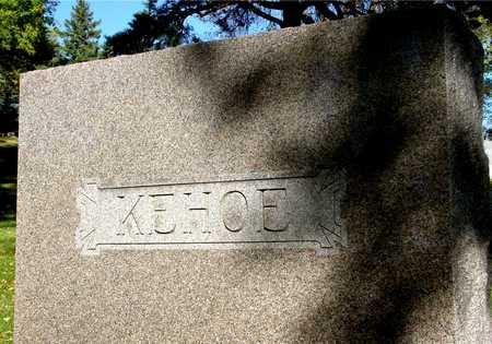 KEHOE, FAMILY MARKER - Ida County, Iowa | FAMILY MARKER KEHOE
