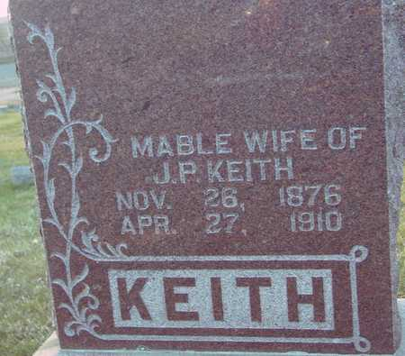 KEITH, MABLE - Ida County, Iowa   MABLE KEITH