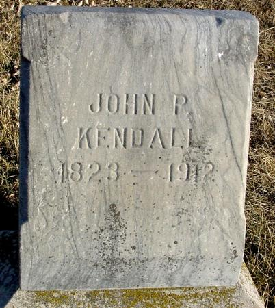 KENDALL, JOHN P. - Ida County, Iowa   JOHN P. KENDALL