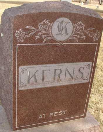 KERNS, FAMILY MARKER - Ida County, Iowa   FAMILY MARKER KERNS
