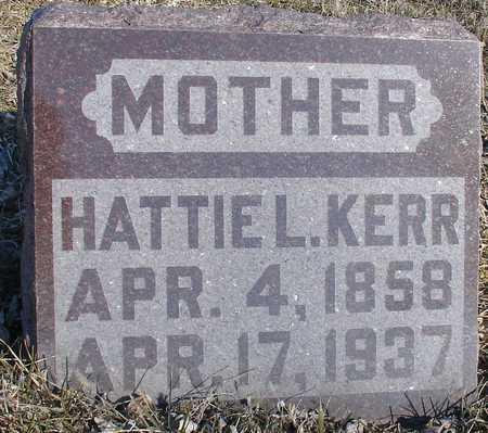 KERR, HATTIE L. - Ida County, Iowa   HATTIE L. KERR