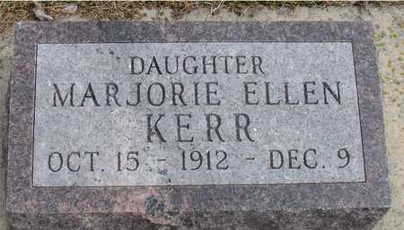KERR, MARJORIE ELLEN - Ida County, Iowa | MARJORIE ELLEN KERR