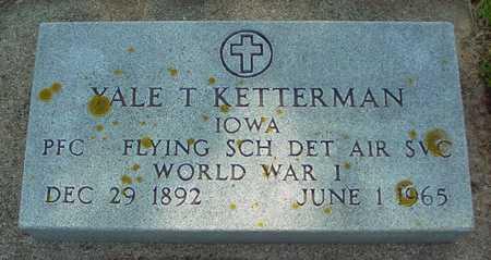 KETTERMAN, YALE T. - Ida County, Iowa   YALE T. KETTERMAN